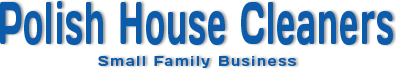 Polish House Cleaners logo